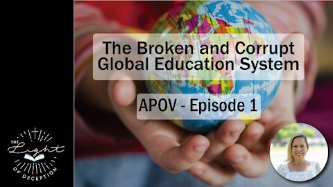 The Broken Educational System - Another Point of View   Danette Lane