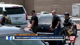 Pasco Sheriff adds patrols after shooting