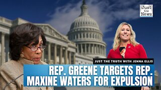 Rep. Marjorie Taylor Greene is targeting Rep. Maxine Waters for expulsion from Congress