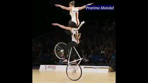 Indoor Bicycling Skill