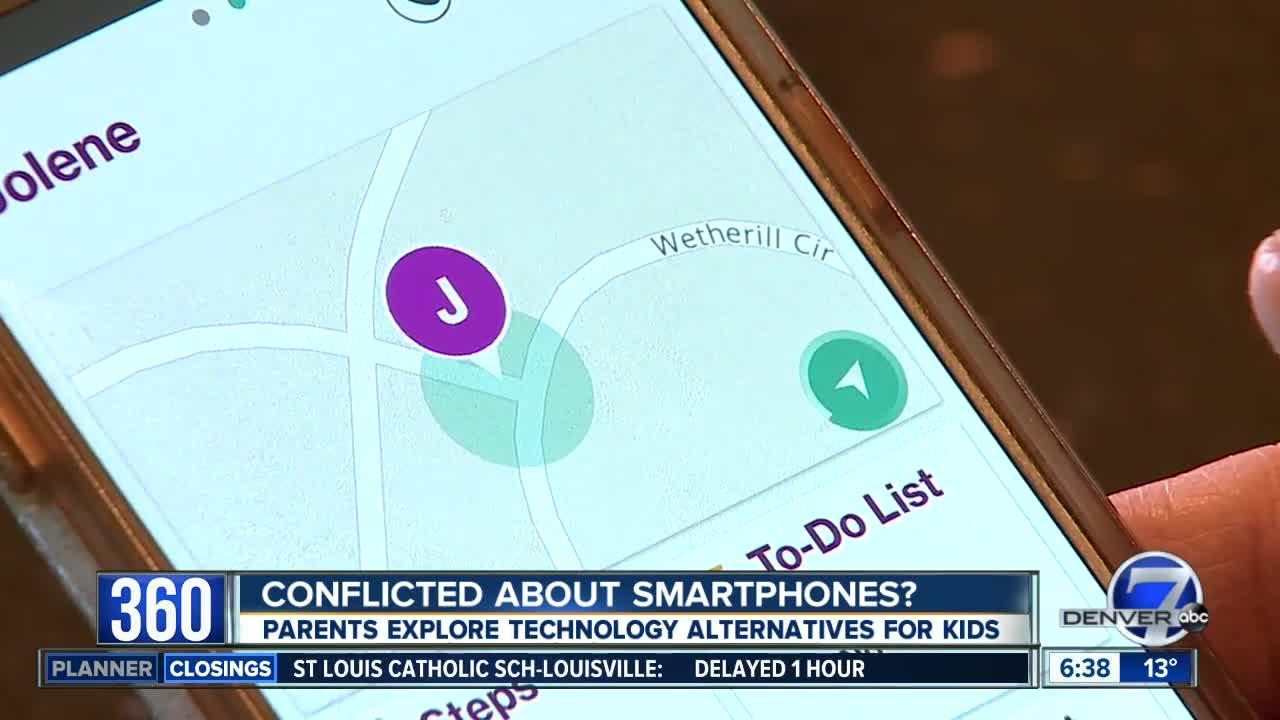 Parents explore phone alternatives for kids