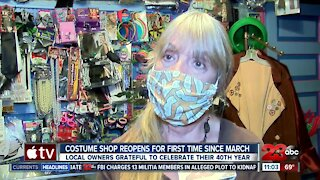 Fantasy Frocks, locally owned costume shop reopens after being closed since March