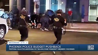 Phoenix looking to increase budget for Phoenix police