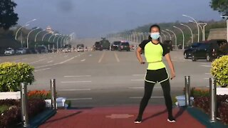 Myanmar Military Coup Live Streamed by Aerobics Teacher Goes Viral