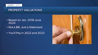 Property valuations going in the mail this week
