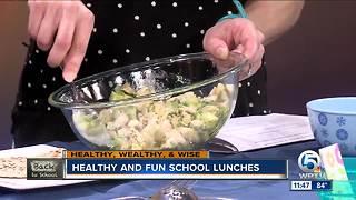 Healthy and fun school lunch ideas