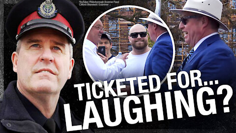 WHAT A JOKE: Handshakes, laughter illegal in the People's Republic of Peterborough