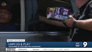 Unplug & Play: Thousands of toys given to Tucson kids