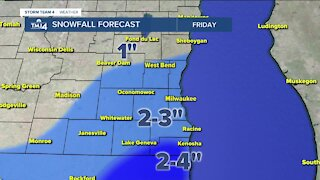 Winter weather advisory issued for SE Wisconsin counties