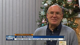 Suicide Prevention Hotline now making follow-up calls to vulnerable Idahoans