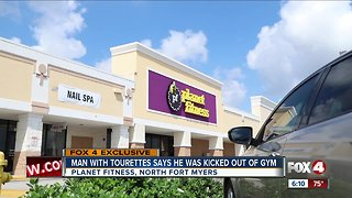 Man with tourettes kicked out of Planet Fitness in Fort Myers