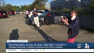 School reopening plan in Baltimore County