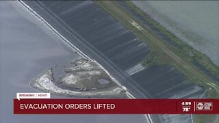 Evacuation orders being lifted in Manatee County