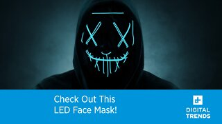 Check Out This LED Mask!