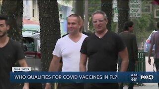 Snowbirds getting vaccinated in Florida