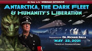 Antarctica, the Dark Fleet & Humanity's Liberation - Webinar Announcement