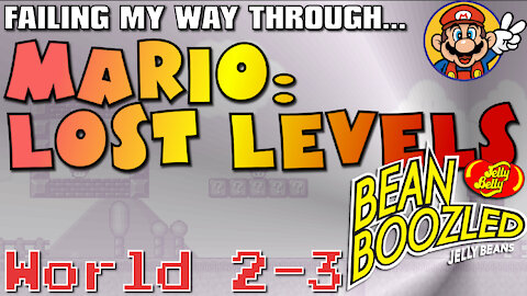 Mario Death = Mouth Death! The Beanboozled Challenge: Mario Lost Levels (Family Friendly)