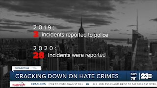 Cracking down on hate crimes