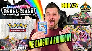 Rebel Clash Booster Case (Box 2) | Pokemon Cards Opening