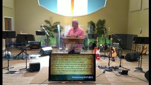 Worship service 6-20-21