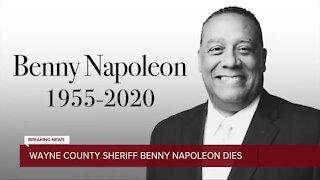 Wayne County Sheriff Benny Napoleon dies