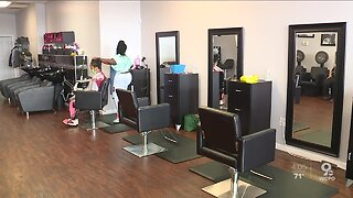 Hair salons, barber shops reopen in Ohio