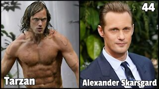 The Legend of TARZAN CAST THEN AND NOW WITH REAL NAMES AND AGE