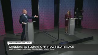 Candidates square off in Arizona Senate race