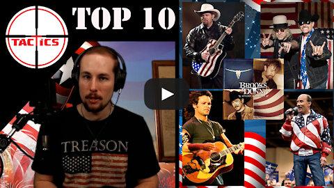 Top 10 Most American Modern Songs