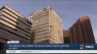Dozens injured in Baltimore building exposion