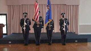 Hanscom AFB Honor Guard: National Anthem