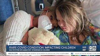 Rare COVID condition impacting children