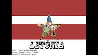 Bandeiras e fotos dos países do mundo: Letônia [Frases e Poemas]