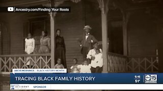 Tracing family history can be difficult for many African Americans