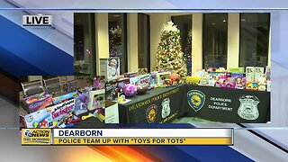 Dearborn Police team up with 'Toys for Tots'
