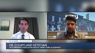 Henry Ford Allegiance Vice President Population Health Dr. Courtland Keteyian