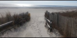 Atlantic Ocean, Boardwalk, Atlantic City, NJ 12/3/2020