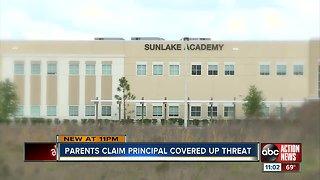 Parents claim Hillsborough County charter school principal covered up school threat
