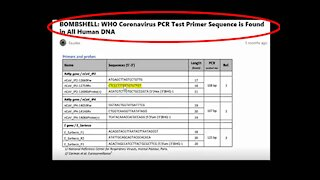 BANNED ON Y.T.: PROOF COVID IS AN EXISTING CHROMOSONE IN YOUR BODY...NOT A VIRUS