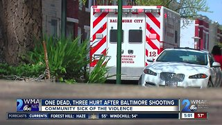 Community Sick of the Violence in Baltimore