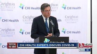 CHI Health experts discuss COVID-19