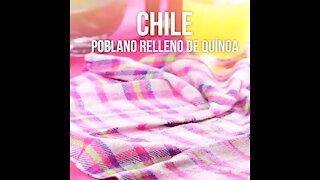 Chile Poblano de relleno de Quinoa