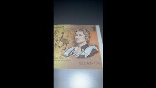 OLD AUSTRALIAN $1 NOTE