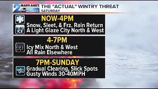 Winter Weather Advisories Through 7pm