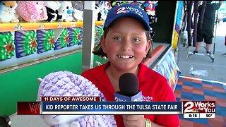Kid reporter takes us through the Tulsa State Fair