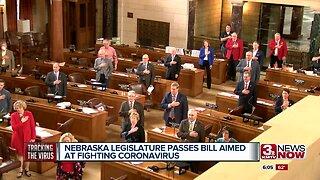Nebraska legislature passes bill aimed at fighting coronavirus
