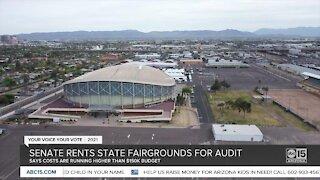 State senate rents Arizona fairgrounds for audit