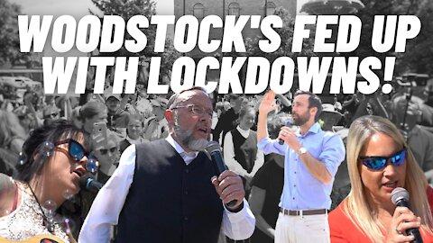 Woodstock Freedom assembly, Derek Sloan, Pastor Henry Hildebrandt, Kristal Pitter 05/30/21