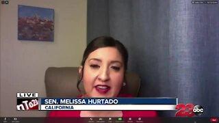 State Senator Melissa Hurtado discusses Joe Biden's Inauguration
