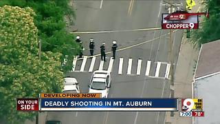 Deadly shooting in Mount Auburn